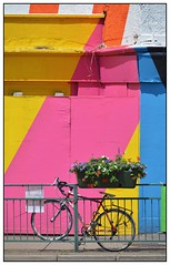 The Bike ... (junepurkiss) Tags: colour london bike bicycle vibrant colourful walthamstow