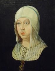 Juan de Flandes. Isabel la Catlica (vicentecamarasa) Tags: de la juan isabel catlica flandes edadeshombrebriviesca2012