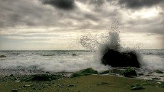 Iodio (marco.tiano) Tags: sea black colors clouds alone calabria amantea iodio coreca samsungs3neo