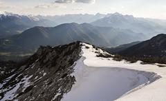 DSC_2420 copy (Finanzkrise) Tags: wood trees sky mountain snow clouds forest mountainside dust wandern nationalparkkalkalpen