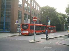 London Street Art (koothenholly) Tags: london southwark londonbuses elephantcastle londonstreetart newingtoncauseway southwarkbridgeroad no100bus cletabraham roadsigntransfer