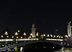 Pont Alexandre III (JeanLemieux91) Tags: bridge summer paris france june night puente lights evening luces noche juin ledefrance verano pont t soir nuit junio nocturne lumires 2016