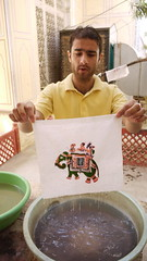 Acid bath (Ivan Lian) Tags: india jaipur rajasthan blockprinting touristshop
