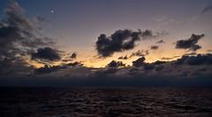 Earth's Satellite (Umbrelika) Tags: light sunset sky cloud moon night umbrella dark studio dawn star dusk earth space satellite overcast line planet moonlight mon blaze lit bianca cresant umbrelika