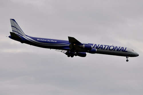 National Airlines (N8) (National Air Cargo) - Douglas DC-8-71F - N872CA - John F. Kennedy International Airport (JFK) - September 21, 2011 3 147 RT CRP