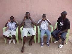 Hohner harmonicas in Guinea Bissau!