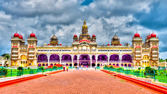 Mysore Royal Palace in Mysore India (mbell1975) Tags: india fort or royal palace residence schloss fortress mysore palast hdr amba residenz vilas