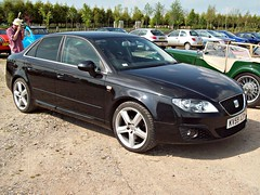 237 Seat Exeo Sport TDi (2009) (robertknight16) Tags: spain seat 2000s worldcars