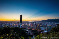 .... Sunset Taipei / Taipei, Taiwan (yameme) Tags: sunset taipei101 taipei taiwan  canon 5dmarkii     101  nightshot night 1635mmlii flickraward flickraward5 flickrawardgallery