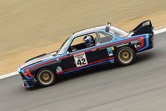1972 BMW CSL (autoidiodyssey) Tags: cars race vintage bmw gt 1972 csl imsa montereyhistorics 2011rolexmontereymotorsportsreunion