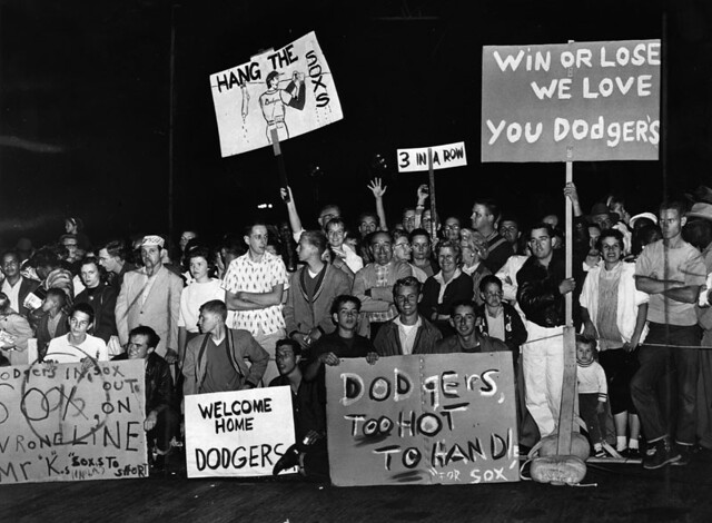 1959-DODGERS Welcomed Home