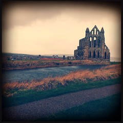 (sleeptowin) Tags: morning castle abbey island early view ruin dracula holy whitby hipstamatic