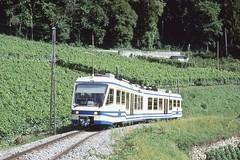 1992-07, ASD, Vignoble d'Aigle (Fototak) Tags: train fart 51 asd vevey tpc schmalspurbahn