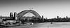 Sydney Harbour Bridge B&W. (cortezopperman) Tags: ocean bridge deleteme5 deleteme8 blackandwhite deleteme deleteme2 deleteme3 deleteme4 deleteme6 deleteme9 tourism deleteme7 canon saveme harbour deleteme10 sydney 450d june2012