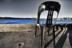 sedia (picsie14) Tags: art interestingness interesting chair desaturated biennale interestingness2 cockatooisland interesting2 sydney2012 biennalesydney2012 httpodonovansontourblogspotcomau201206whyarephotographerssogrumpyhtml