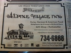 Alpine Village Late '80s (frankasu03) Tags: las vegas restaurant 60s village retro alpine 80s 70s 50s 90s eateries