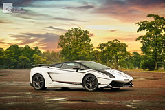 Vanilla Sky (anType) Tags: italy white sports car italian asia sl exotic malaysia kualalumpur lamborghini epic luxury coupe supercar v10 gallardo sportscar lambo superleggera worldcars lp5704 biancomonocerus