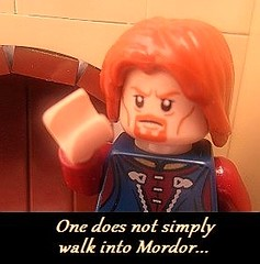 One does not simply walk into Mordor... (G g) Tags: one lego walk lord ring meme lotr rings lordoftherings does simply fellowshipofthering fellowship boromir rivendell mordor gondor legolordoftherings legolotr onedoesnotsimplywalkintomordor lotrlego lordoftheringslego legotolkien boromirlego boromirofgondor