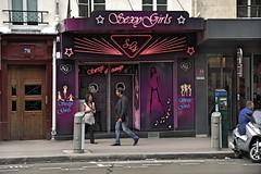 Vergngungsviertel Pigalle / Pigalle entertainment district (Magdeburg) Tags: paris sex fan pleasure montmatre pigalle entertainmentdistrict vergngungsviertel