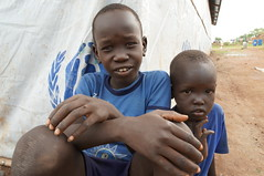 UNHCR News Story: South Sudan: A journey back into the future (UNHCR) Tags: news boys youth children village southsudan refugees
