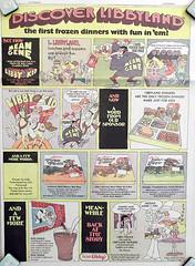 1971 Libbyland Newspaper Ad (gregg_koenig) Tags: old dinner vintage frozen newspaper 1971 tv kid comic gene ad libby mean 1970s libbyland