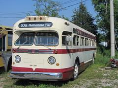 """Ex Brampton GM """"Old Look"""" Bus (Sean_Marshall) Tags: ontario museum gm milton brampton haltoncountyradialrailway bramptontransit"""