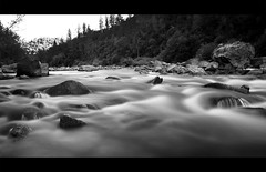 196/366 - Take Me to the River, Part 1 {Explored #1 July 17, 2012} (.avina.) Tags: nikon americanriver coloma 2470mm 25seconds takemetotheriver d700 bw30nd