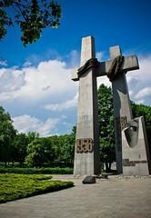 Czerwiec 1956 monument (dandi723) Tags: monument june canon poland polska 1956 pozna poznan krzy pomnik czerwiec 18135 krzye 550d eos550d