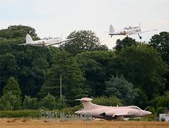 "De Havilland Chipmunks     169  & 170    ""Irish Air Corps"" (Flame1958) Tags: training aircraft blackburn chipmonk 169 raf 170 weston mansfield dhc buccaneer aerodrome kildare aircorps dhc1 dehavillandcanada irishaircorps cokildare blackburnbuccaneer brayairshow eiwt xv863 wp857 gbdrj wd305 westonaerodrome gargg blackburnbuccaneers2b brayairshow2012"
