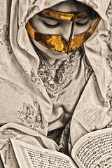 *Ramadan 2/2 (    , ) Tags: a amoora ameera qtr qatar canon 40d q6r qa6ar ramadan 22 quran karem kareem pray muslim islamic islam mubarak gold golden portrait girl arabic photography