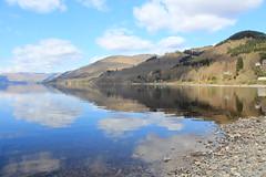 Reflective Loch Earn (Cmg1992) Tags: water st reflections perthshire loch earn fillans