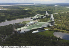 A-29 Super Tucano (Força Aérea Brasileira - Página Oficial) Tags: a29 a29alx a29supertucano alx aeronave aircraft ala emb314 embraeremb314 embraer314 floresta fotojohnsonbarros helice varios voo supertucano turbohelice tefé am brazil bra