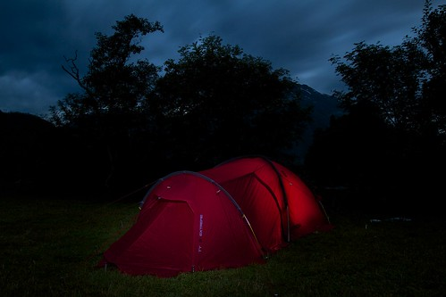 Camping in Åndalsnes