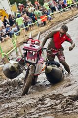 Mud Bog (ASHDR) Tags: sculpture festival oregon mud kinetic bog corvallis davincidays ashdr