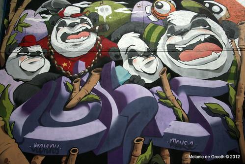 Graffiti by Cheo & Lokey