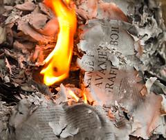 Backyard biblioclasm (Muamer Seljubac) Tags: fire books burning flame ash burningbooks biblioclasm