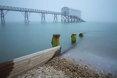In The Quiet Absence Of God (Jonny_Royale) Tags: life uk sea mist beach fog pier big long exposure guard pebbles lee groyne selsey stopper