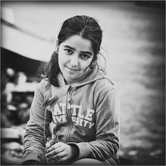 Sophie in B/W (Kiro.Benchev) Tags: portrait people bw kids 50mm nikon bulgaria burgas 2012 d90 nikkoraf50mmf14d nikond90