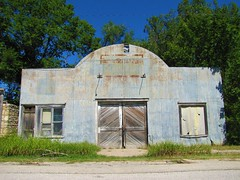 United States Tires (jimsawthat) Tags: abandoned garage vacant kansas ghosttown smalltown ghostsigns elmdale