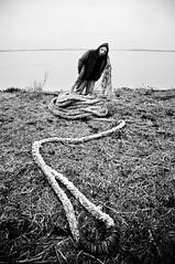 :-s (Colo Eiguren) Tags: costa paran ro person persona nikon mask rope rosario mascara mal soga atado d90 coloeiguren