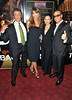 Sylvester Stallone, Jennifer Flavin, Gladys Portugues and Jean-Claude Van Damme 'The Expendables 2' UK Premiere held at the Empire Leicester Square London, England