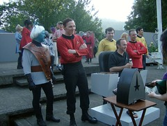 Make a donation, sit in the Captain's Chair! (stefan_e_jones) Tags: startrek theater trekinthepark