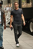 Chace Crawford on the set of 'Gossip Girl' in Midtown, Manhattan. New York City, USA