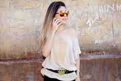 Thais Mugnai (cesarfonseca) Tags: india brasil vintage de ensaio mulher style indiana modelo linda fotos bonita estilo urbano beleza sorriso paulo fotografia trem so fotgrafo vestido loira thais antigo fonseca estao csar vieira fotografico temtico marliasp mugnai