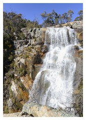 Gibraltar Falls (Visual Clarity Photography) Tags: water waterfall nikon rocks australia august act 2012 d800 gibraltarfalls niksoftware 1424mmf28g nikkor1424mmf28g d800e nikond800e snapeeed