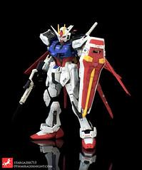 Aile Strike Real Grade (stargazer713.) Tags: gundam rg gundamseed bandai ailestrike modelkit 1144  realgrade