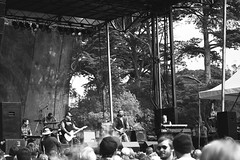 Lucero at Hardly Strictly Bluegrass - Golden Gate Park, SF (c krewson) Tags: california park blackandwhite music roy festival canon john photography golden berry gate san francisco ben bluegrass guitar c brian smoke carter hardly nichols lucero strictly stubblefield venable krewson 40d