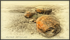 Alien Rocks - Red Rock Coulee (Maclobster) Tags: red rock alberta coulee badlands