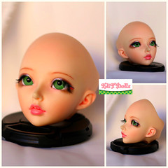 Minifee celine commission (Elisabet Threepwood (so busy)) Tags: pink cute make up ball photography doll dolls teeth makeup mohair bjd joined elisabet celine threepwood elit minifee elitdolls