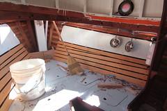 IMG_3951 - Port Hadlock WA - Northwest School of Wooden Boatbuilding - 2013 Repair and Restoration - HOBO - (BlackShoe1) Tags: wood port boat washington olympicpeninsula wash pacificnorthwest wa jefferson woodenboat washingtonstate hobo woodboat boatrepair countyeast porthadlockwa boatwooden hobohobohobo hadlockjefferson countymv repairwood tugwoodtug